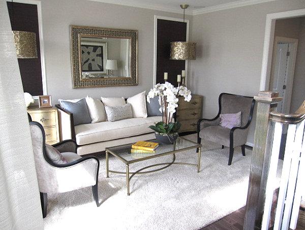 Smart Lounge Room With A Stunning Carpets نأمل رغبتي الممنوحة - Laura ashley grey living room